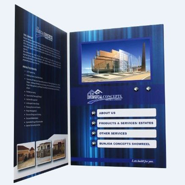 Video Brochure Card