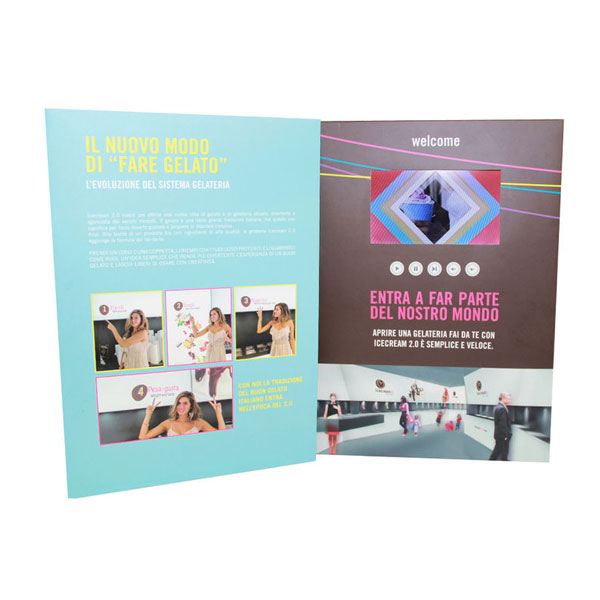 Video booklet card